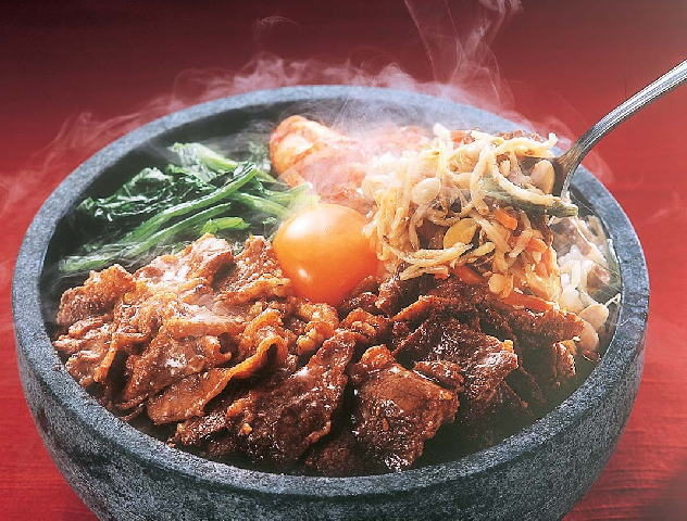 熊野牛石焼ビビンバ